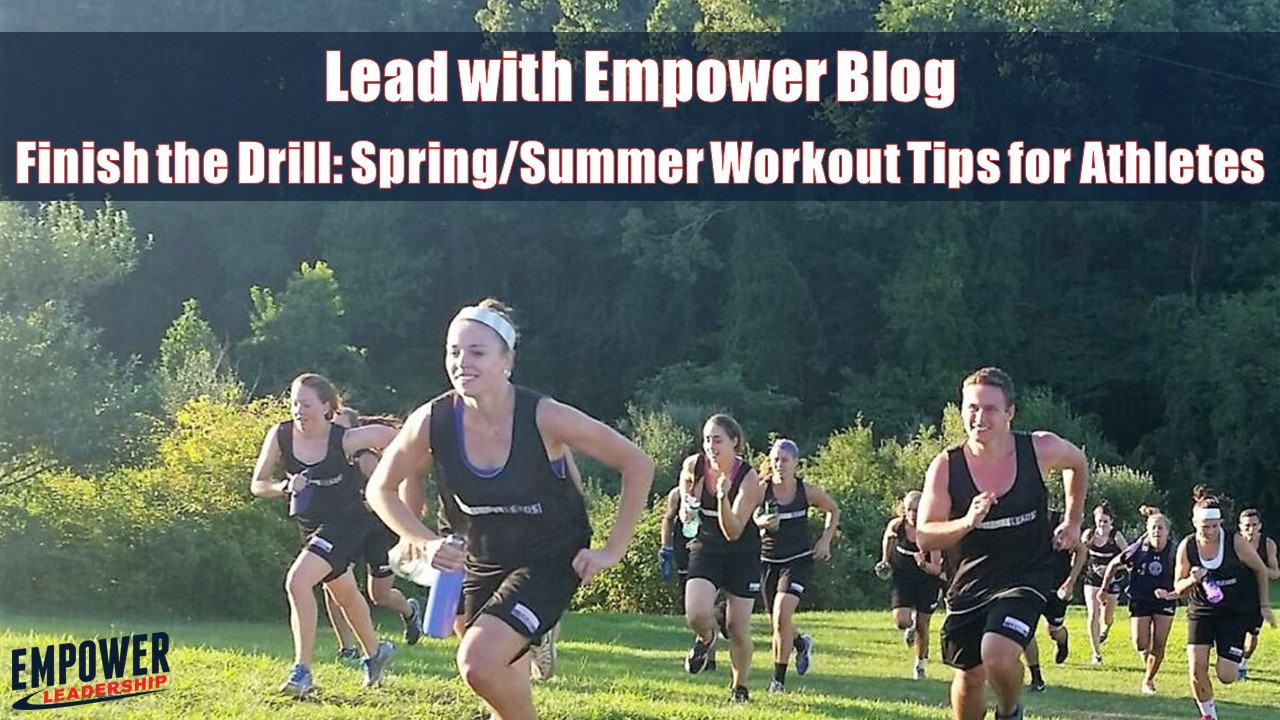 Finish the Drill: Workout Tips for Athletes